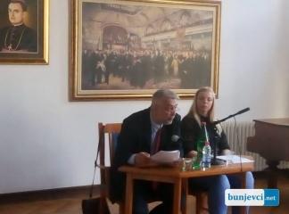"""Održana istorijska tribina """"Istorija familije Skenderović"""""""