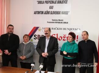Održana konferencija za medije Saveza bačkih Bunjevaca