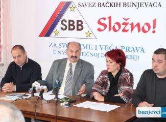 Konferencija za novinare Saveza bačkih Bunjevaca