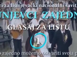 """Promocija liste """"Bunjevci zajedno"""" u Somboru"""